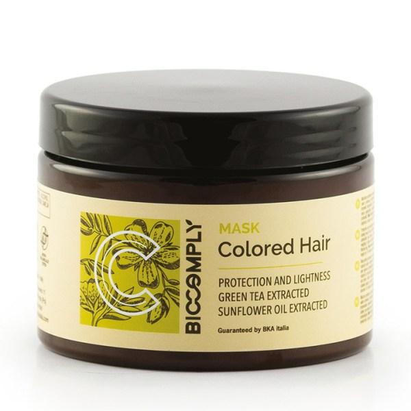 biocomply colored hair ARCosmetici maschera vegetale naturale capelli colorati meches 500ml
