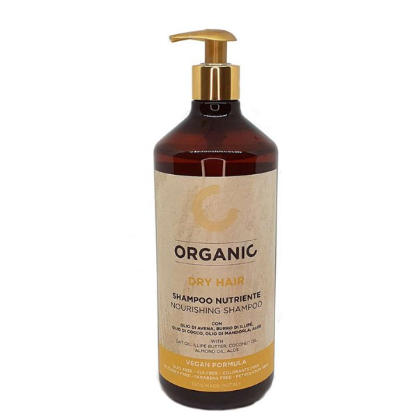 ORGANIC DRY HAIR SHAMPOO NUTRIENTE 1