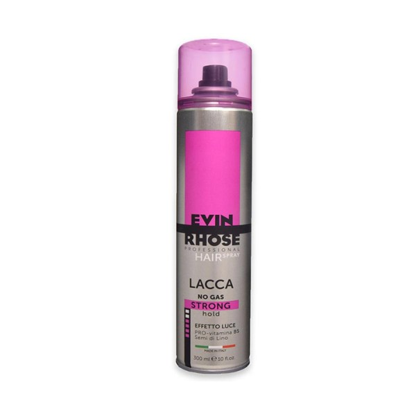 evin rhose lacca no gas effetto luce strong hold 300 ml
