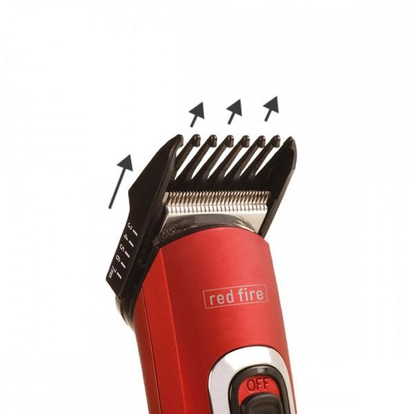 red fire tagliacapelli ricaricabile 2