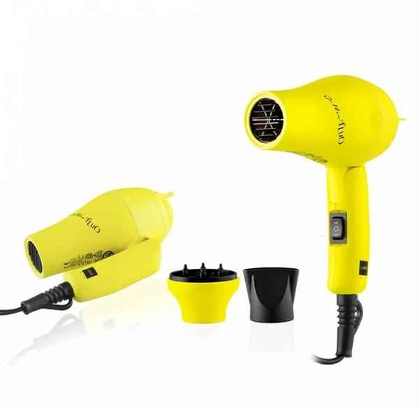labor gettin fluo asciugacapelli mini giallo1200w