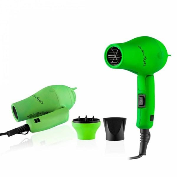 labor gettin fluo asciugacapelli mini verde 1200w 1