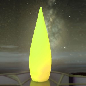 Deko LED Leuchte, Stehlampe mit Farbwechsel und Fernbedienung, Beitragsbild