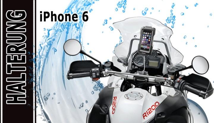 Lenkerhalterung für iPhone 6, Interphone Motorradhalterung / Fahrradhalterung