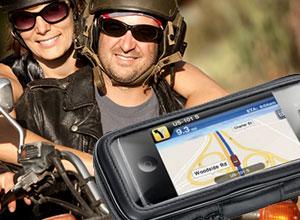 Interphone, Universal Smartphone und Navi Halterung für Fahrrad und Motorrad