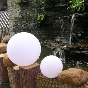 LED Kugellampe, Gartenbelechtung