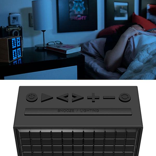 Bluetooth Lautsprecher Divoom TimeBox, Navigations Tasten