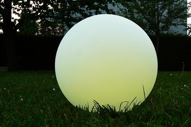 LED Solar Gartenbeleuchtung, Gartenlampen Kugel
