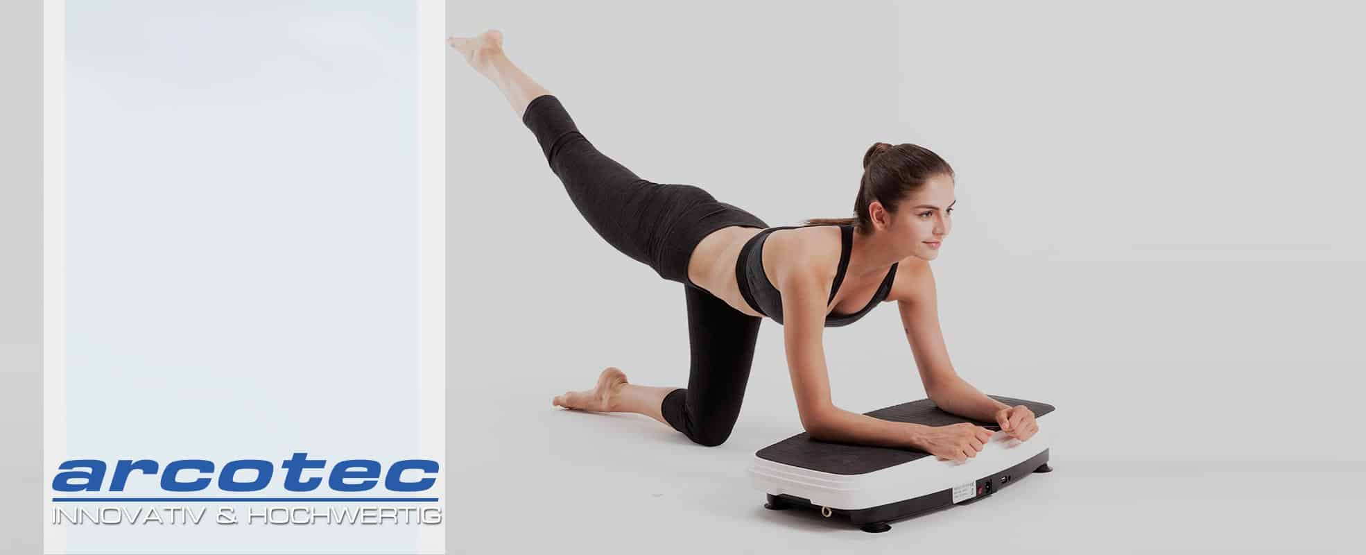 @tec Vibrationsplatten, ein Vibrationstrainer für zuhause