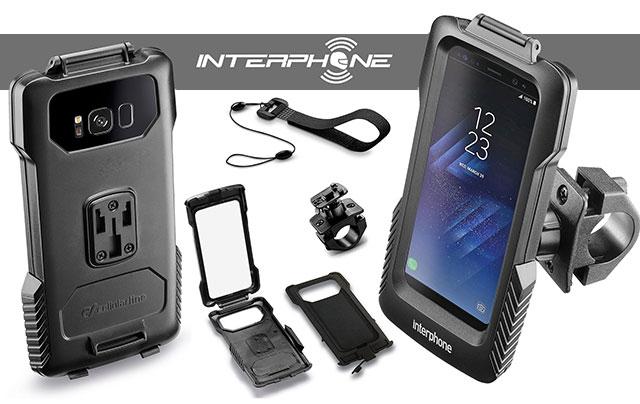 Interphone Halter für Samsung Galaxy S8
