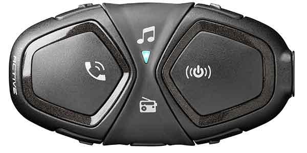 Interphone Active, Bluetooth Freisprecheinrichtung für Motorrad
