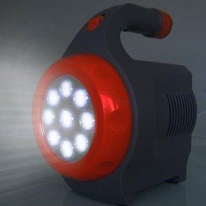 LED hochleistung Handlampe / Taschnlampe, Beitragsbild