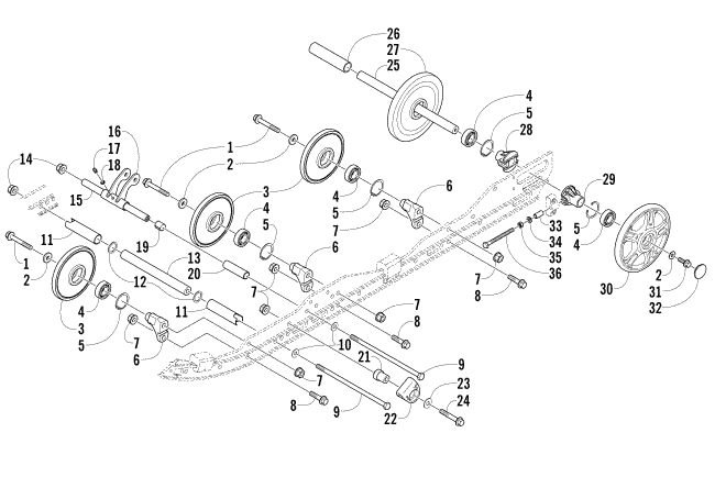 Arctic Cat F7 Parts Diagram
