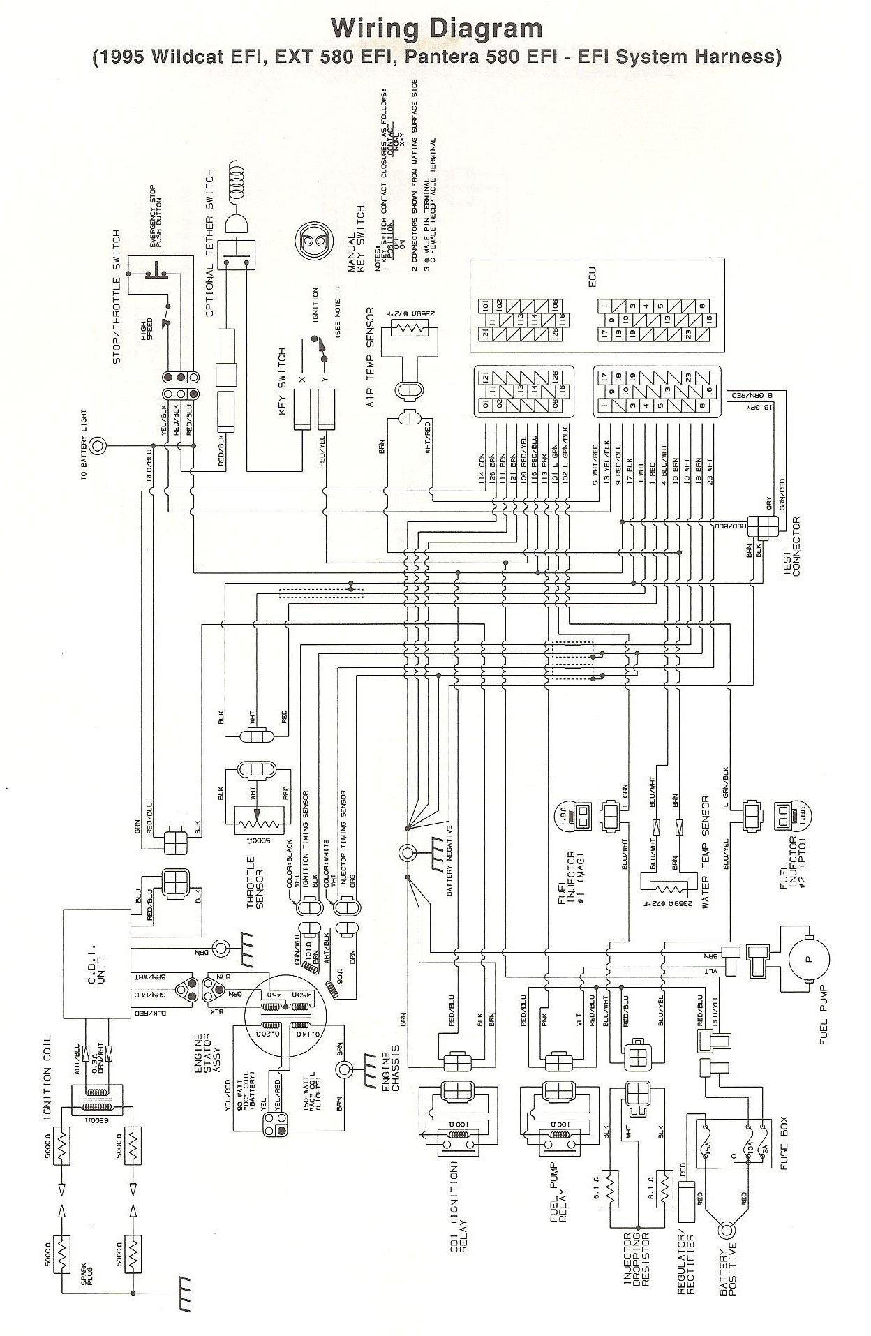 1993 Arctic Cat Ext 580 Carburetor
