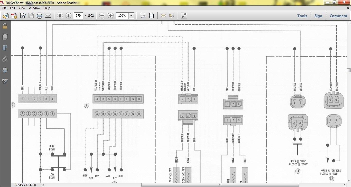 2014 Arctic Cat M8000 Wiring Diagram