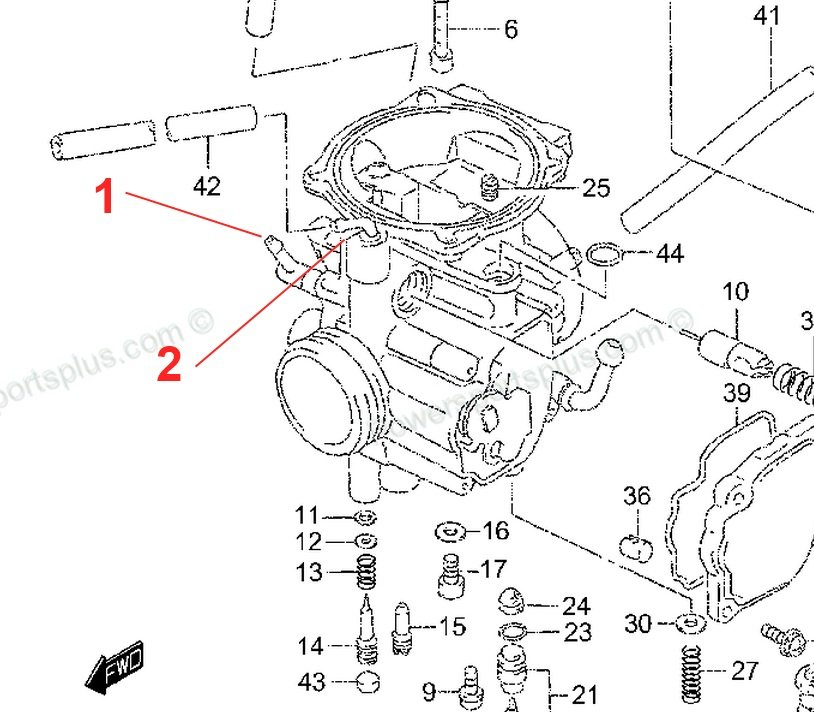 Wiring Database 2020: 29 Suzuki Ltz 400 Carburetor Diagram