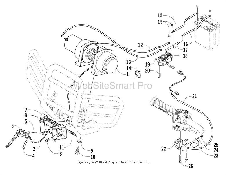 Champion ATV Winch Wiring Diagram For. ATV. Wiring