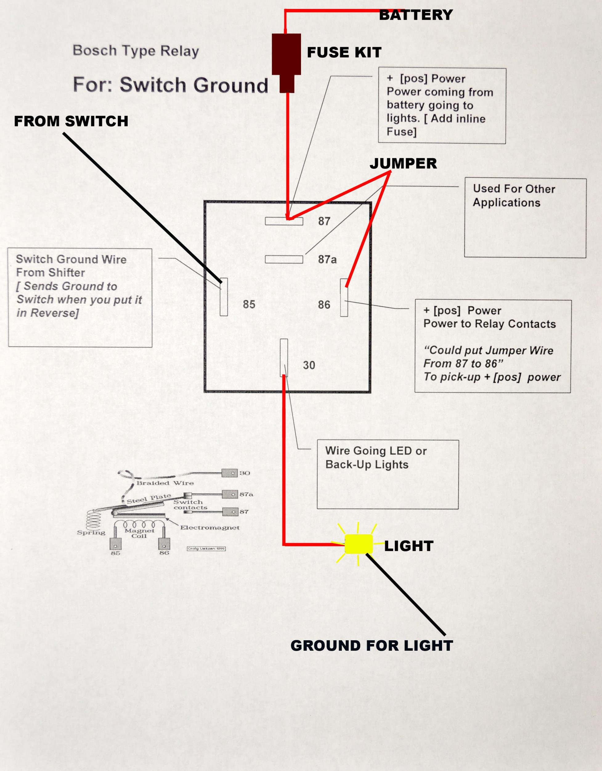bosch relay wiring diagram single phase borewell starter car stereo get free image about