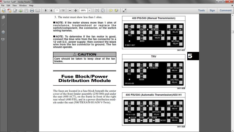 medium resolution of 2005 arctic cat 700 4x4 fuse box wiring diagram portal u2022 1998 arctic