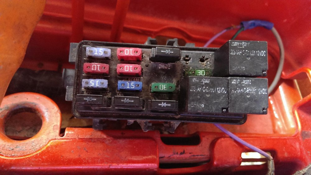medium resolution of honda 300 fuse box wiring diagram forward honda 300 fourtrax fuse box