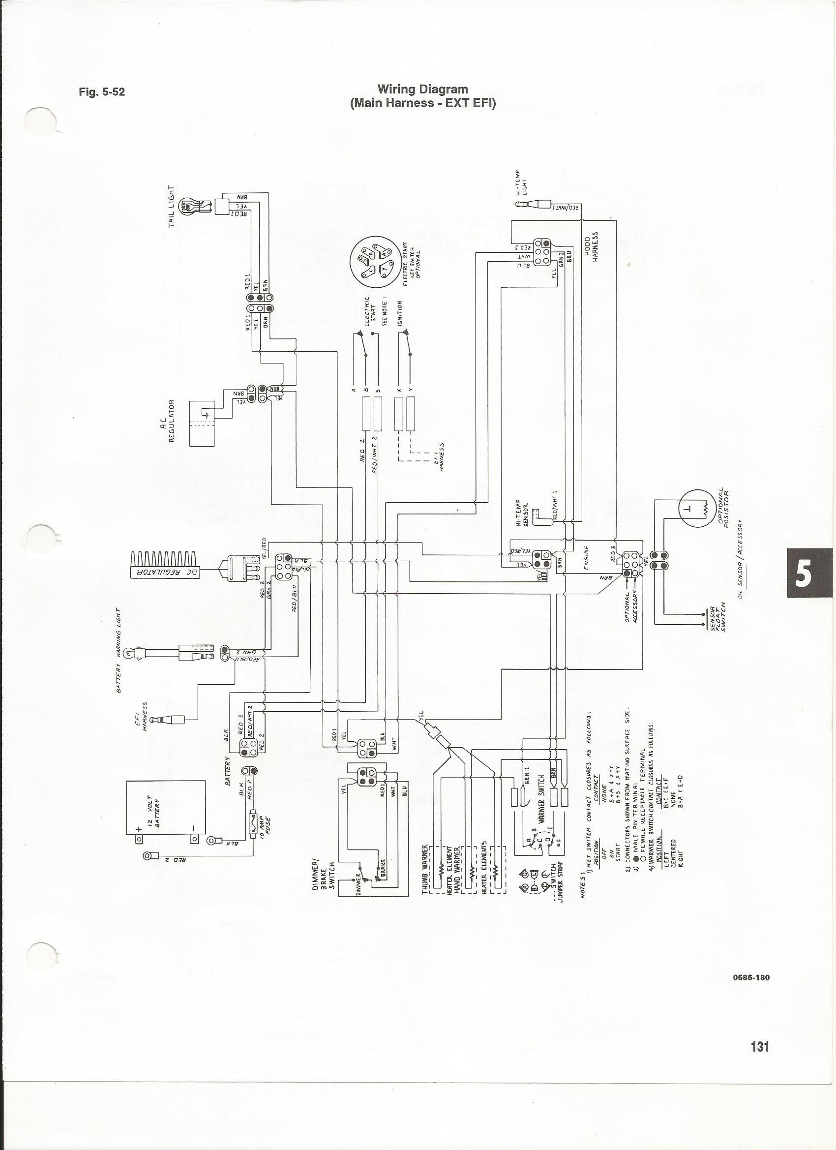 1988 Arctic Cat Wildcat Snowmobile Wiring Diagram