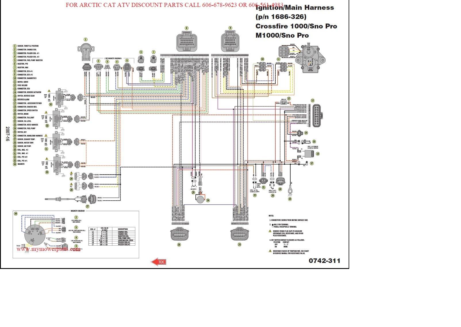 2007 Sno Pro Wiring Diagram ArcticChat Com Arctic Cat Forum