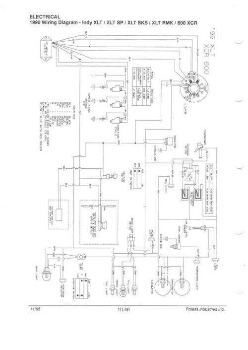 small resolution of polaris xc wiring diagram wiring diagram data wiring diagram polaris 500 trail 96 xcr no