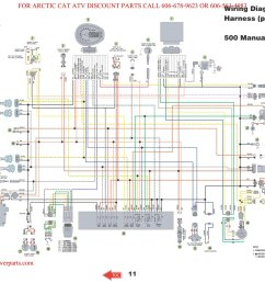 arctic cat 350 wiring diagram wiring diagram forward 2011 arctic cat atv 700 wiring diagram [ 2500 x 1932 Pixel ]