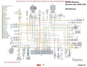 wiring diagram  ArcticChat  Arctic Cat Forum