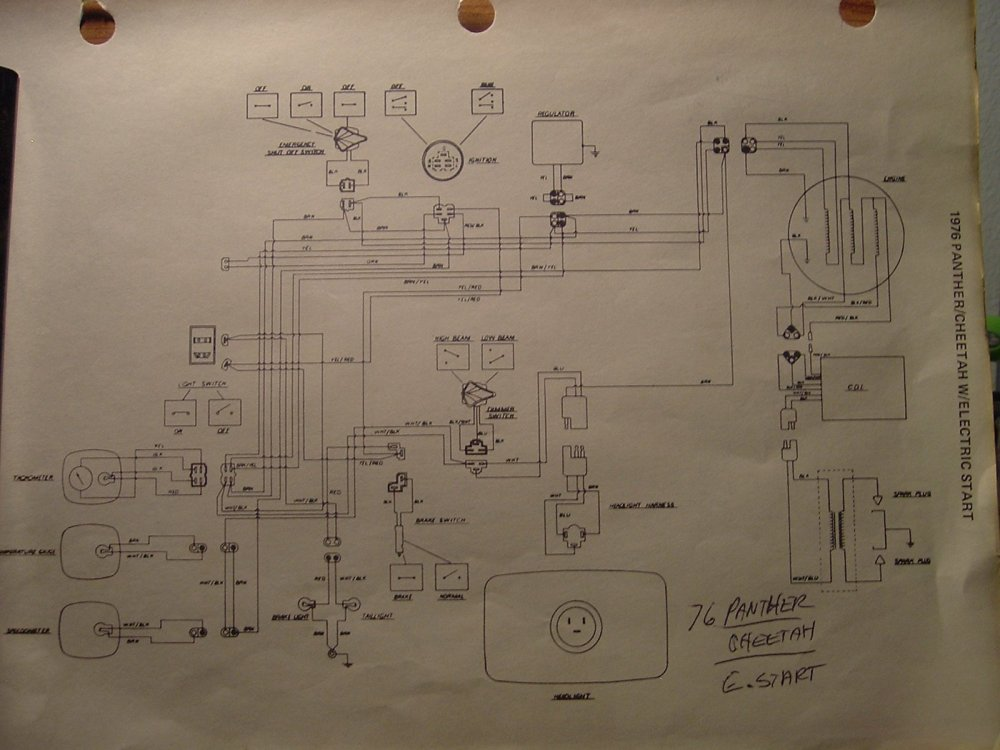 medium resolution of  wiring diagram 1996 arctic cat 440 wire center u2022 arctic cat 500 wiring diagram 2000