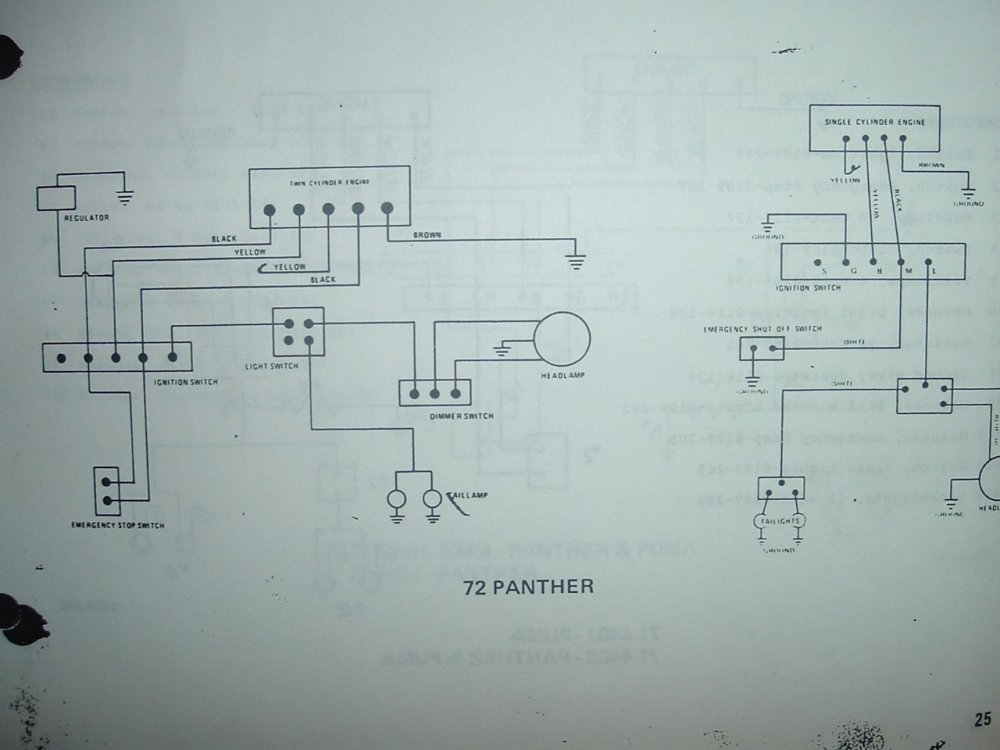 medium resolution of 1972 arctic cat panther brake light arcticchat com arctic cat forum kc fog light wiring diagram 1972 arctic cat wiring diagram