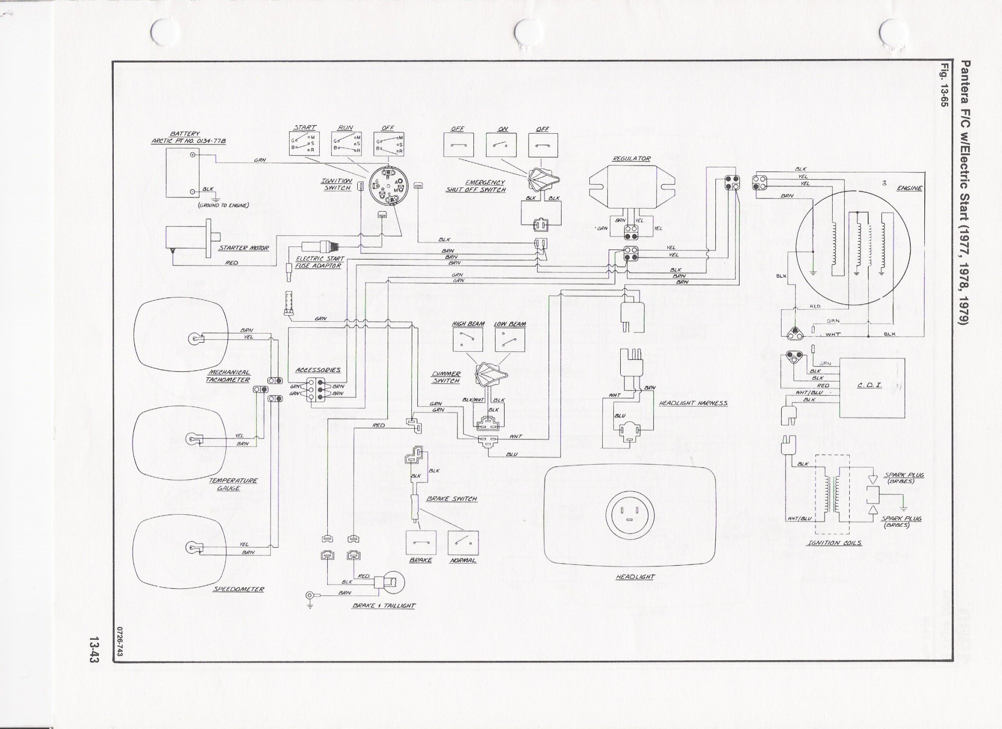 hight resolution of wiring diagram for 1999 arctic cat 400 wiring libraryarctic cat jag wiring diagram for 1979 schematics