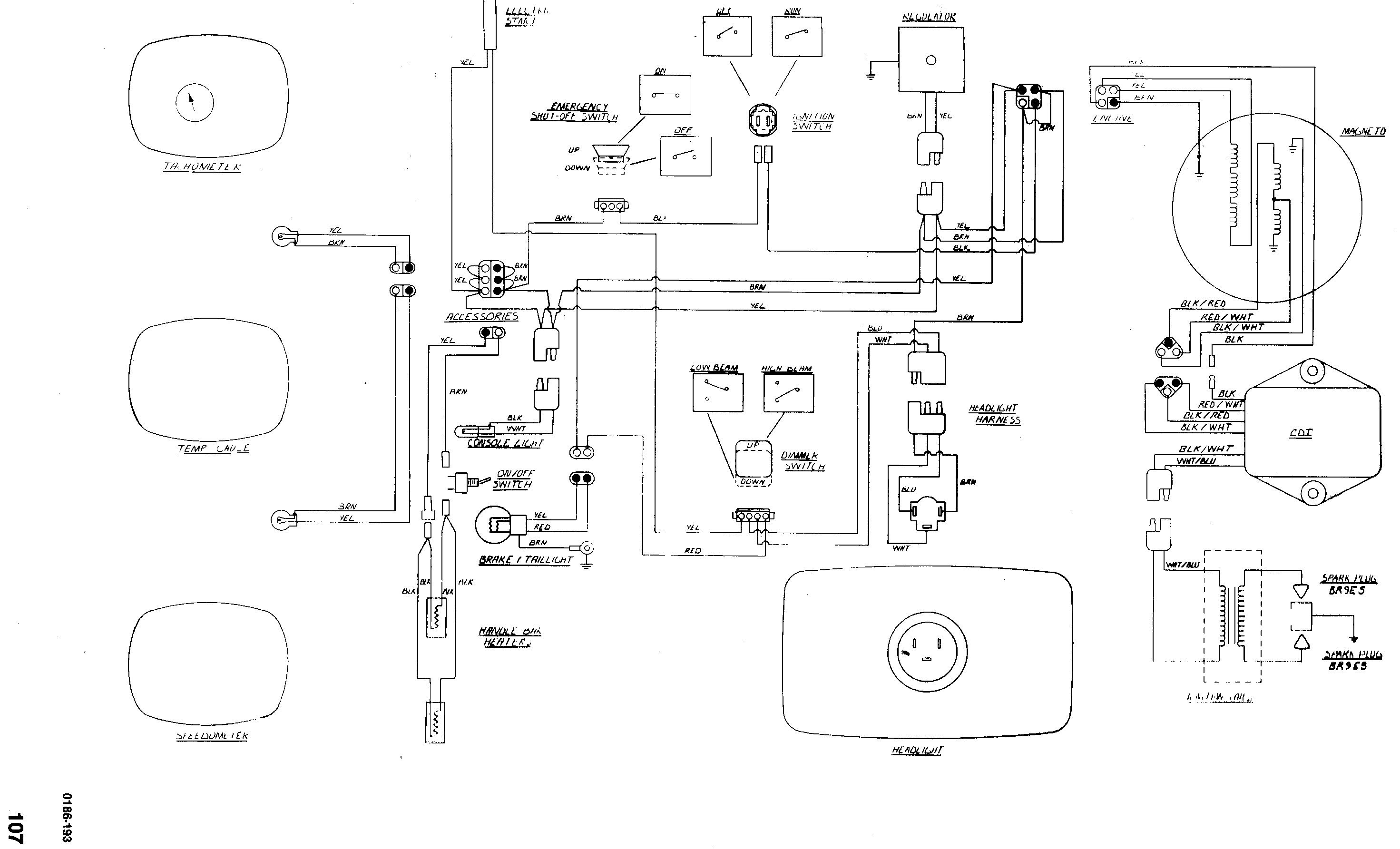 arctic cat panther wiring diagram