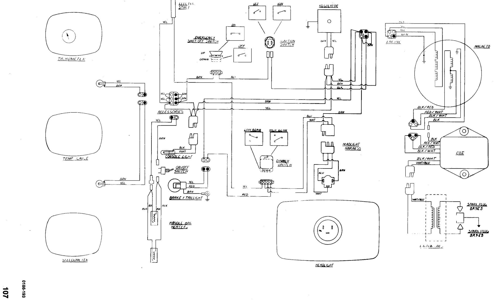 hight resolution of 1991 arctic cat jag wiring diagram advance wiring diagram arctic cat snowmobile 4 stroke wiring diagrams