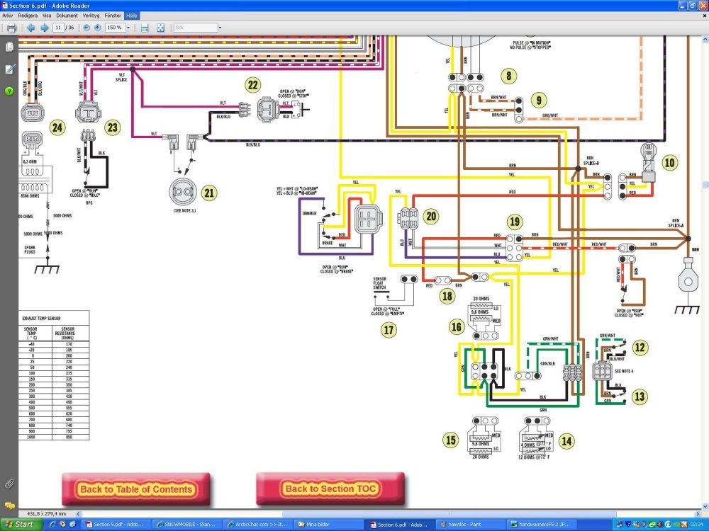 medium resolution of arctic cat f7 wiring diagram