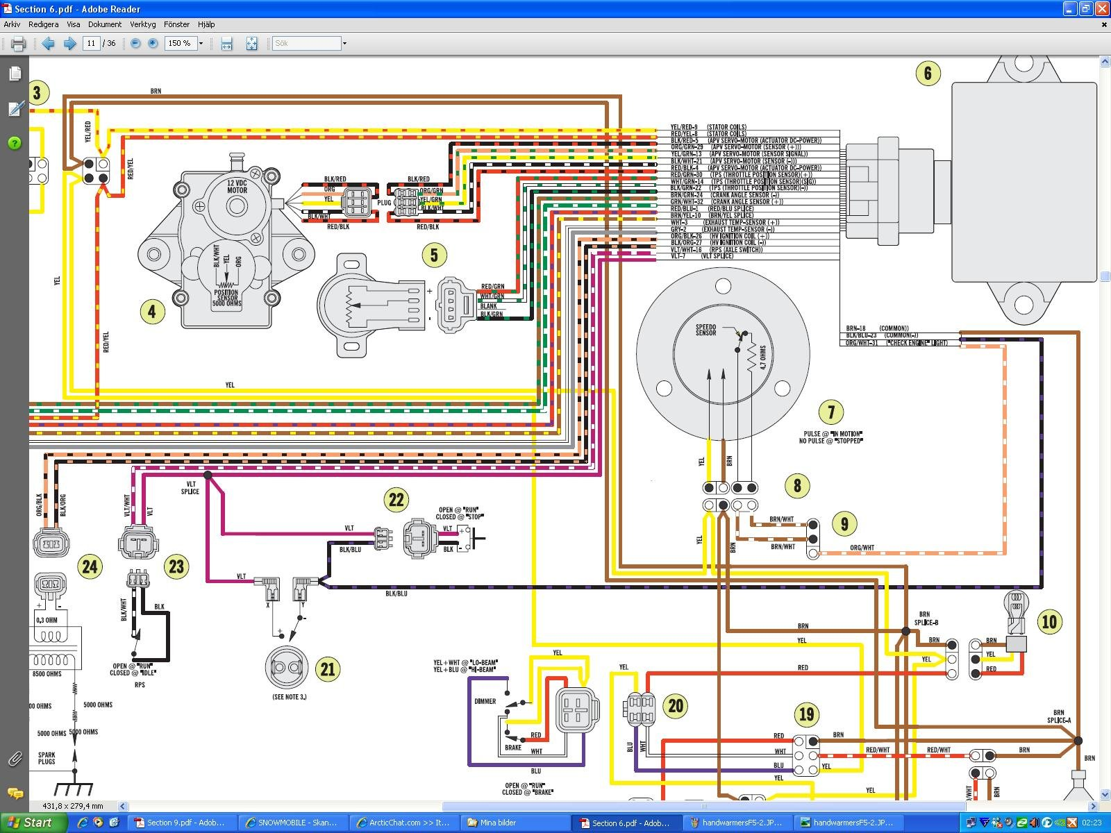 hight resolution of  ski doo tundra wiring diagram click image for larger version name handwarmersf5 2 jpg views 23986