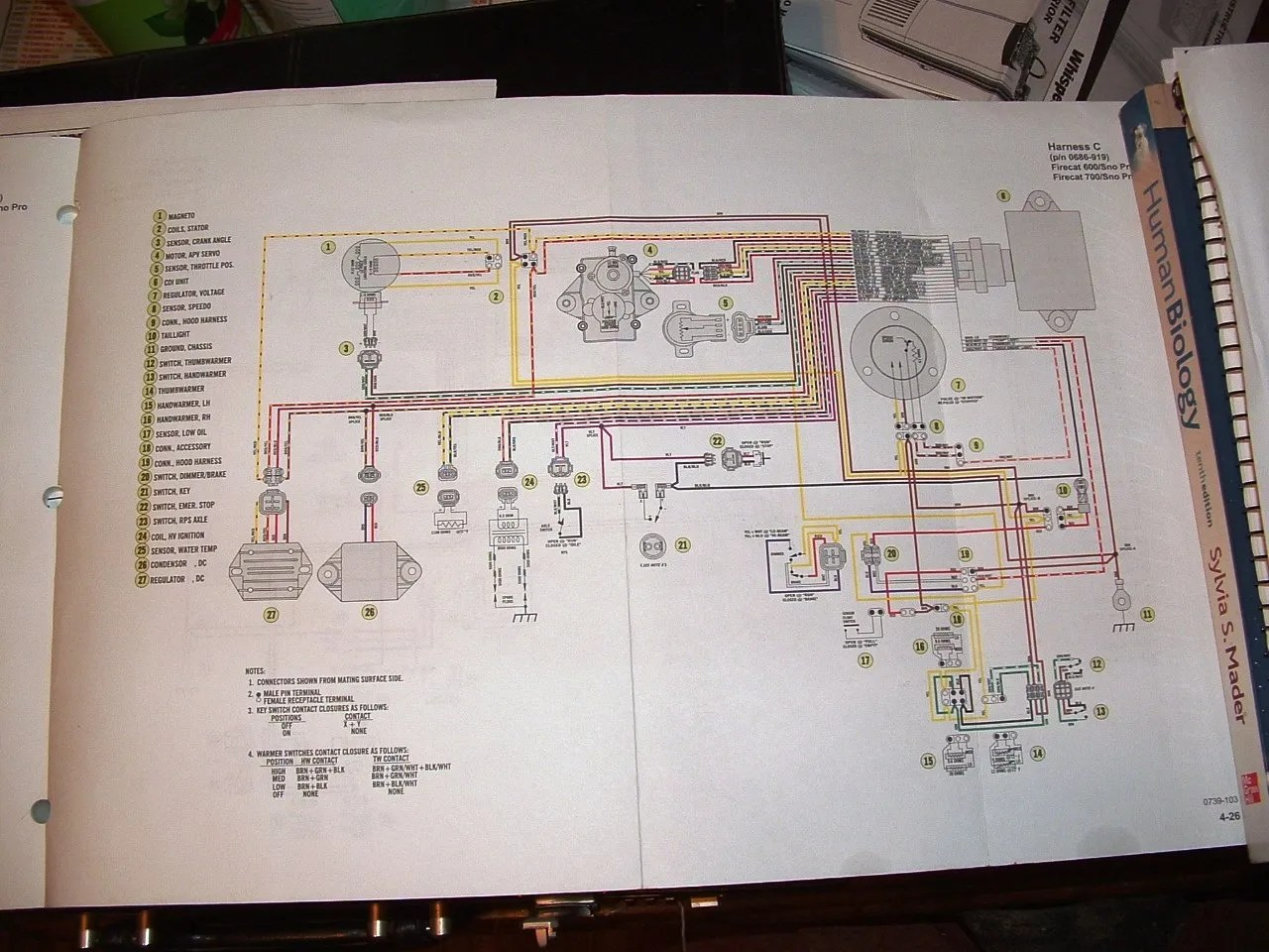 hight resolution of 03 f7 efi electrical problem urgent arcticchat com arctic cat forum rh arcticchat com 2004 arctic cat f7 wiring diagram 2004 arctic cat f7 wiring diagram