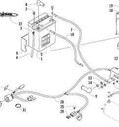 1999 arctic cat zr 500 snowmobile wiring diagrams [ 1634 x 953 Pixel ]