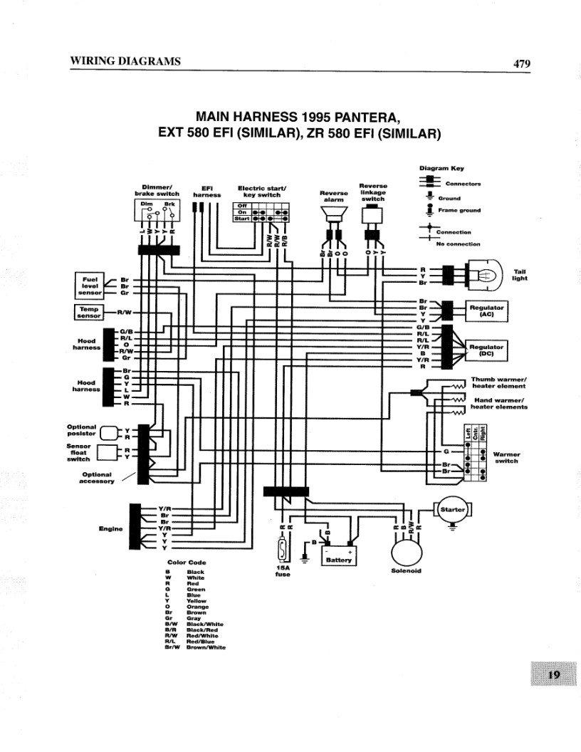 1995 arctic cat wiring diagram wiring diagram 95 zr 580 wiring arctic cat forum