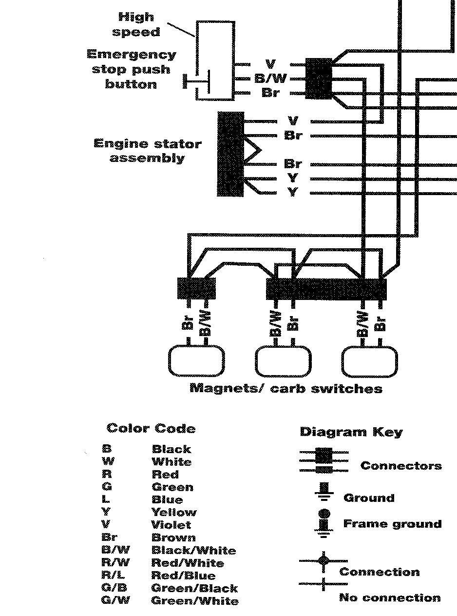 snowmobile engine parts diagram