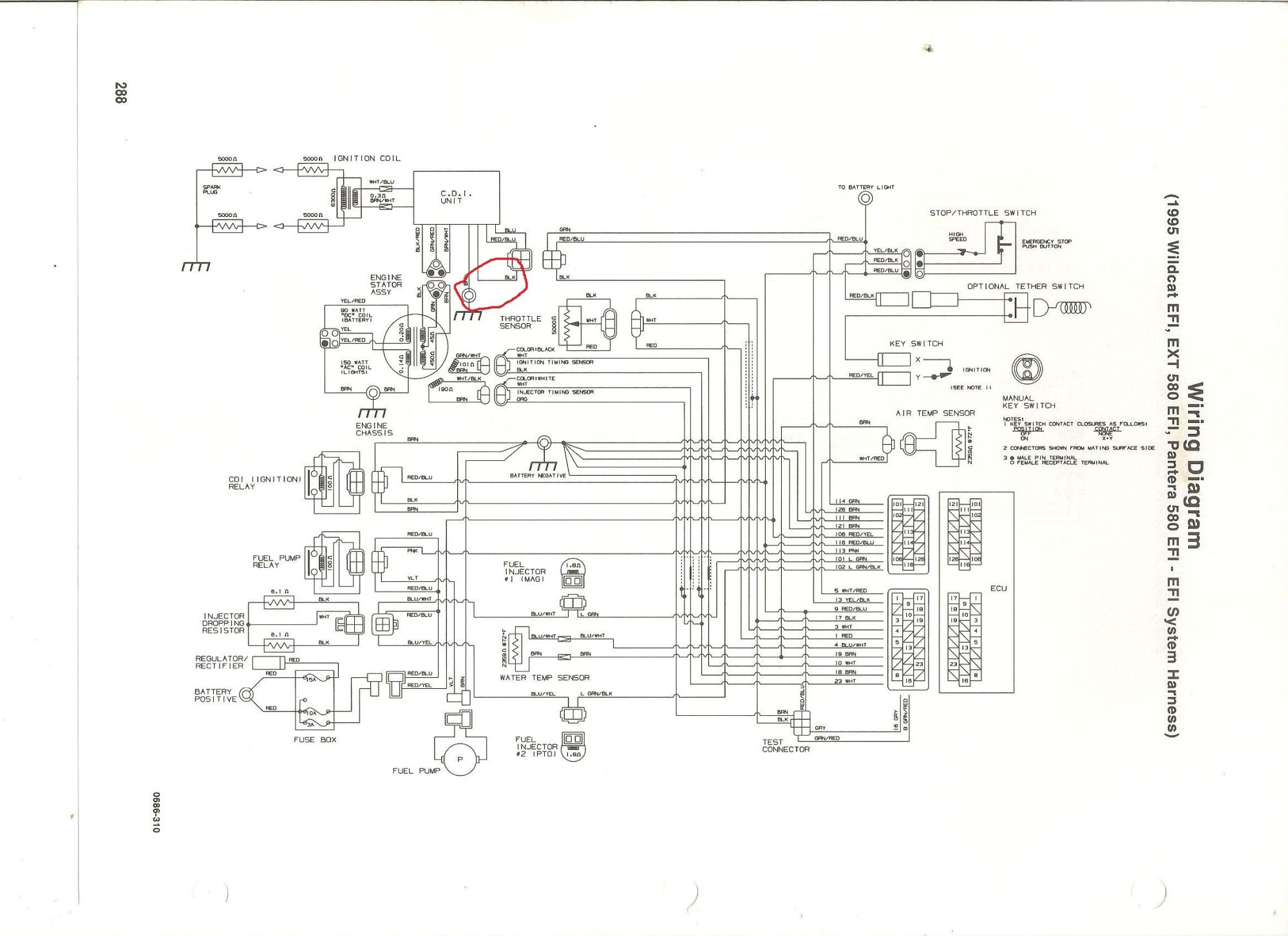 hight resolution of 93 wildcat wiring diagram wire diagram 1992 arctic cat 700 wildcat wiring diagram