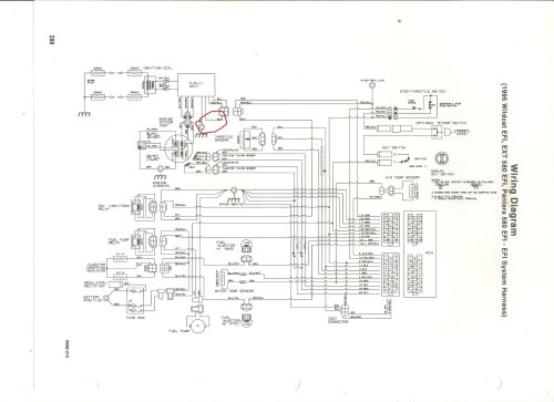 small resolution of 93 wildcat wiring diagram auto diagram database 1988 arctic cat wildcat snowmobile wiring diagram