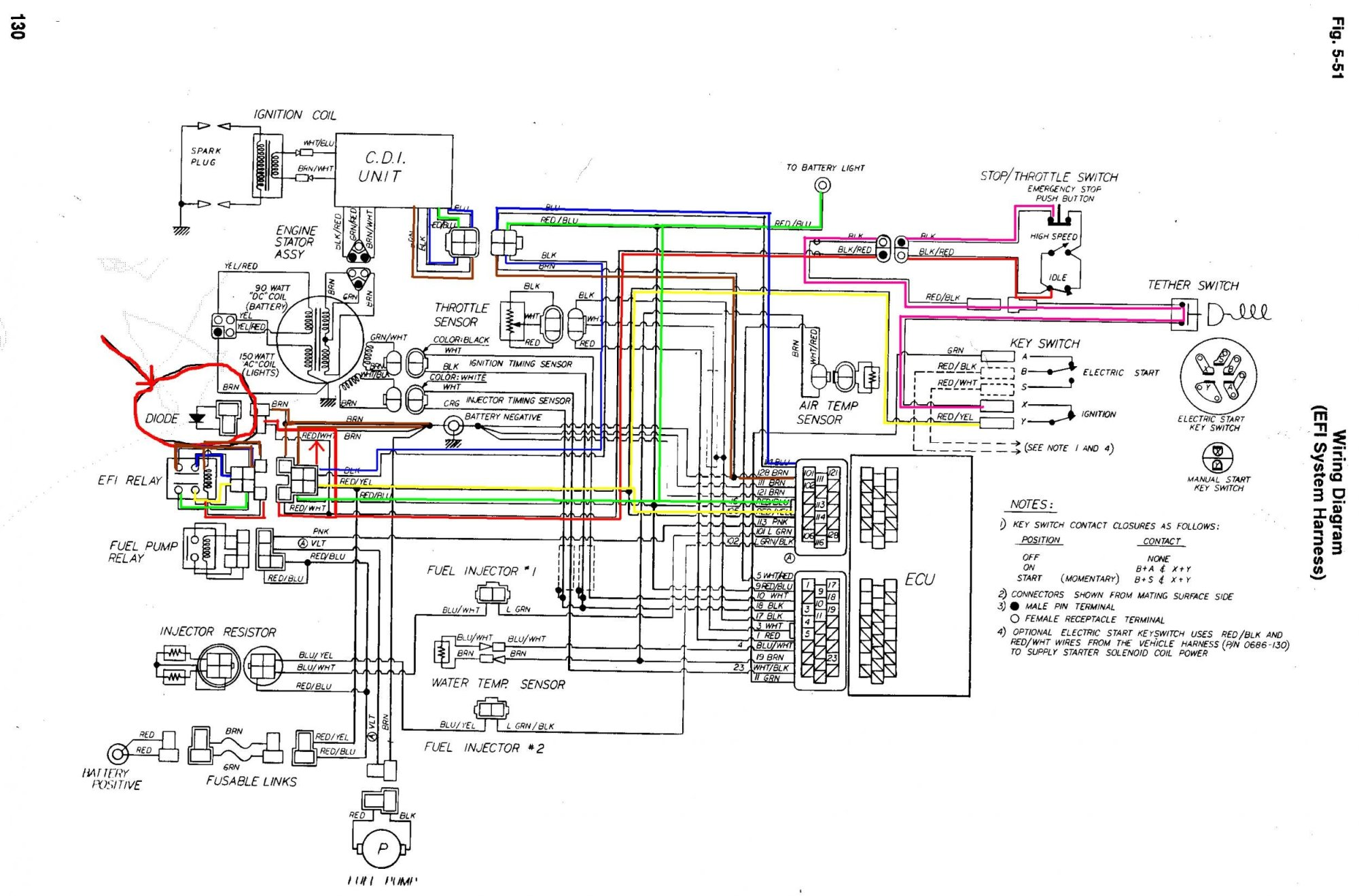 hight resolution of 550 efi wiring arcticchat com arctic cat forum 2003 yamaha grizzly 660 wiring diagram