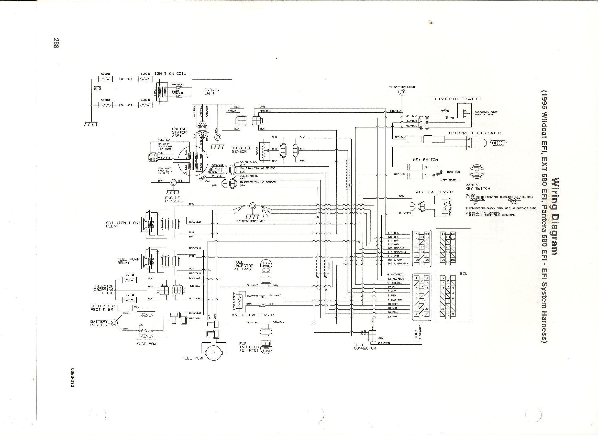 Arctic Cat 650 V2 Wiring Diagram