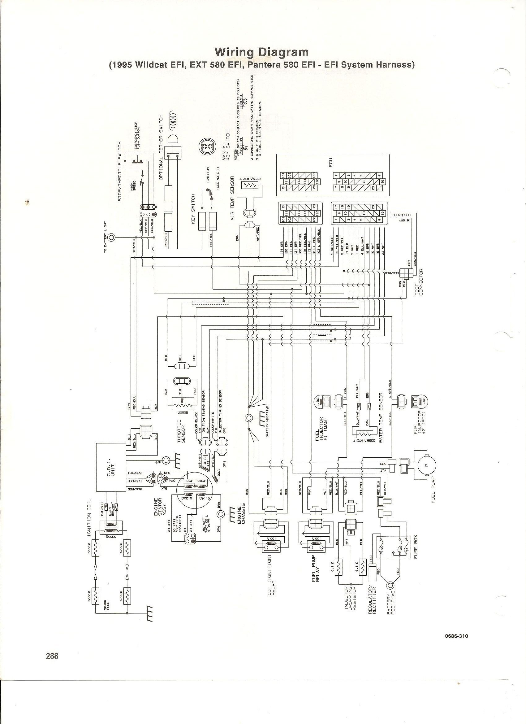 Vintage Snowmobile Wiring Diagrams