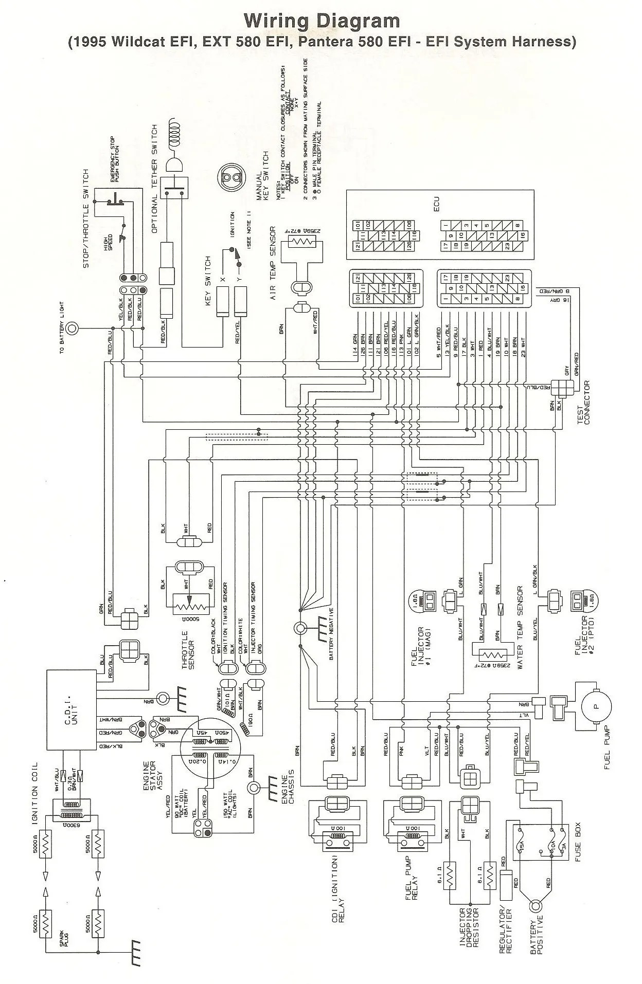 hight resolution of 1992 wildcat 700 wiring diagram wiring diagram data todaywildcat wiring diagram archive of automotive wiring diagram