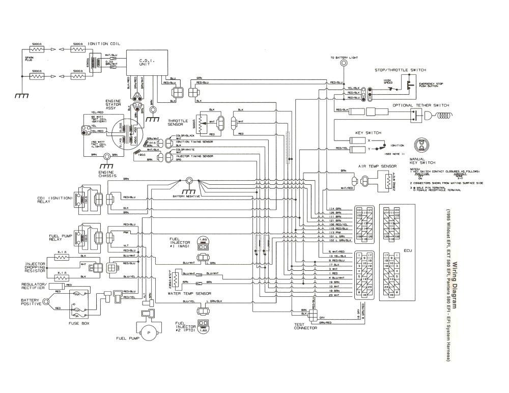 medium resolution of 1996 ext 580 efi will not charge new stator regulator page 2 rh arcticchat com 1997 arctic cat zrt 1996 arctic cat zrt