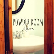 Powder Room Afters
