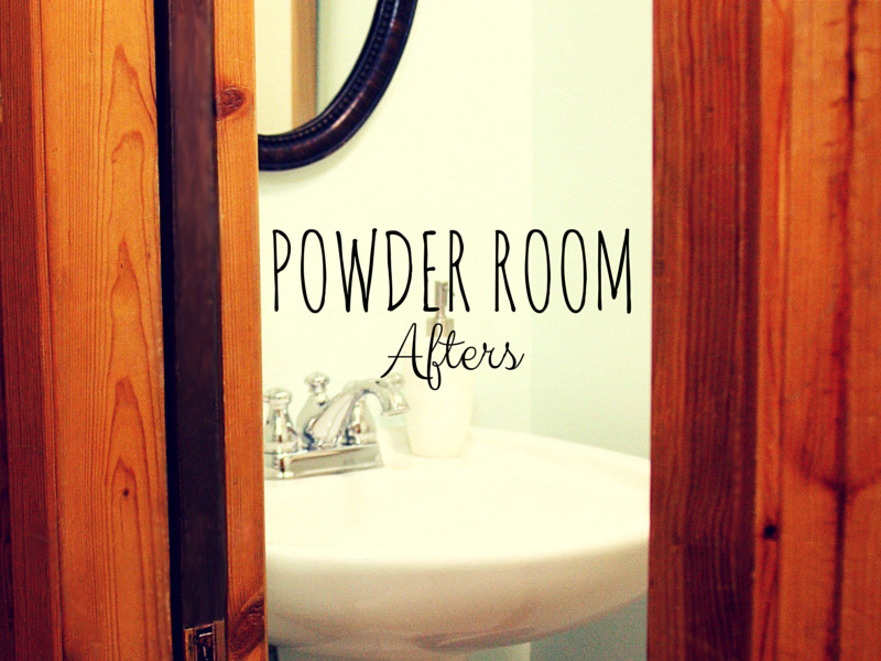 ACRTICdeco.com: Powder Room Afters