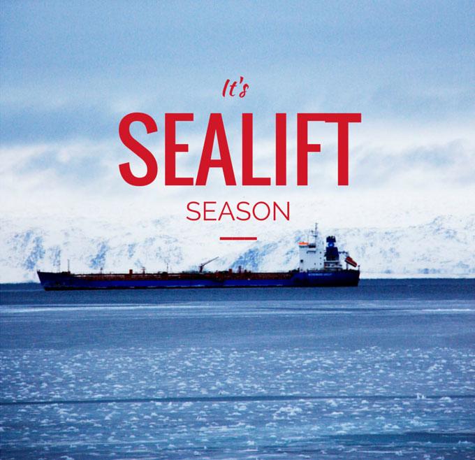 ARCTICdeco.com: Sealift Season